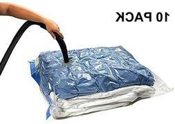 10 PACK XL Space Saver Extra Large Vacuum Seal Storage Bag Z