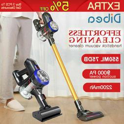 Dibea D18 9000 Pa Lightweight Cordless Handheld Stick Vacuum