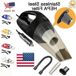 120W Car Vacuum Cleaner for Auto Portable Wet Dry Dirt Dust