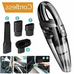 120W Wet & Dry Vacuum Cleaner Car Cordless Handheld Recharge