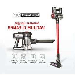 Dibea 120W Wireless Vacuum Cleaner Rotary Head 2-In-1 versat