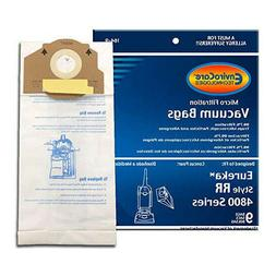 18 Eureka Type RR Upright Allergy Vacuum Bags, Omega Upright