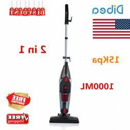 Dibea 2 in 1 Portable Cord Stick Vacuum Cleaner 15Kpa 1000ml