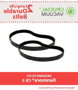Think Crucial 2 Replacements for Kenmore CB-3 Smooth Belts,