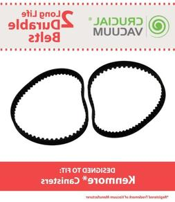 2 REPL Kenmore Canister Vacuum Belts CB-1 20-5285 742024 46-