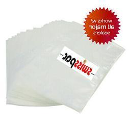 200 Pint 6x12 Vacuum Seal Bags ~ Embossed for Foodsaver Mach