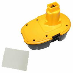 2000mAh Vacuum Cleaner Battery Replace For Dewalt DC9096 DE9