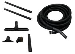 30' Central Vacuum Garage Kit Hose Tools Accessories for Bea