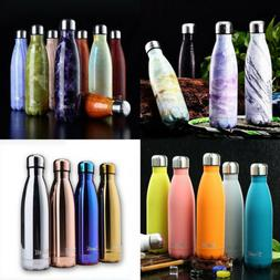 350-1000ML Insulated Water Bottle Vacuum Flask Thermal Sport
