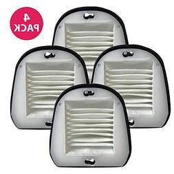 4 Black & Decker VF20 Filter & Cover Kits Fit Dustbuster Par
