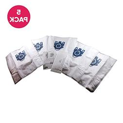 5 Miele GN Deluxe Cloth Bags & 2 Filters Fit Capri Vacuums P