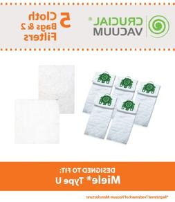 Think Crucial 5 Replacement for Miele U HEPA Style Cloth Bag