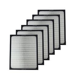 6 Blueair Air Purifier Filters Fit 200 & 300 Series Air Puri