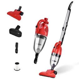 800W 2-in-1 Vacuum Cleaner with HEPA Filtration Corded Uprig