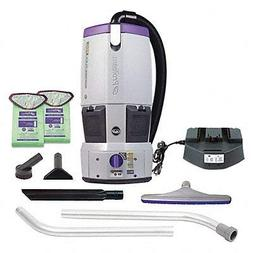 Cordless Backpack Vacuum, 10A, 78 cfm
