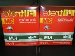 Filtrete FJM Synthetic Bags and Filters, 10 Bags and 4 Filte