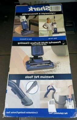 Shark - Navigator Bagless Upright Vacuum - Blue
