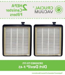 Crucial Vacuum Replacement Vacuum Filter Compatible with Dir