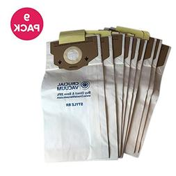 Think Crucial 9 Replacements for Eureka RR Paper Bags Fit Ul