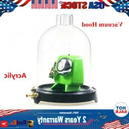 Acrylic Bell jar Vacuum Hood Suction Disc Bell Physics Exper