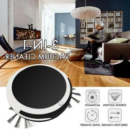 Auto Rechargeable Smart Robot Vacuum Cordless 3-in-1 Dry Wet