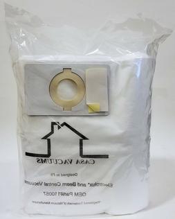 Casa Vacuums 4-Pack Beam / Electrolux HEPA 110057 Cloth Cent