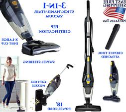3-IN-1 VACUUM CLEANER FLOOR CARPET STAIR UPRIGHT HANDHELD ST