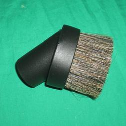 "Black 1 1/4"" Universal Horse Hair Dust Brush Fit 1.25"" Attac"