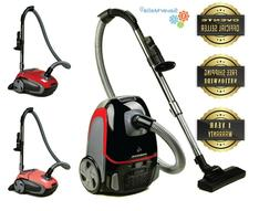 canister vacuum with tri level filtration automatic