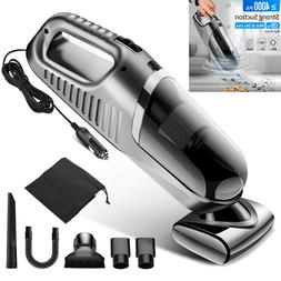 Car Vacuum Cleaner 12V Mini Handheld Auto Dust Buster Hepa F