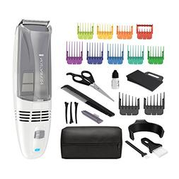 Remington HC6525 Color Comb Vacuum Haircut Kit, Vacuum Trimm