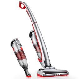 Cordless Vacuum Cleaner Bagless Handheld Battery 2 in 1 LED