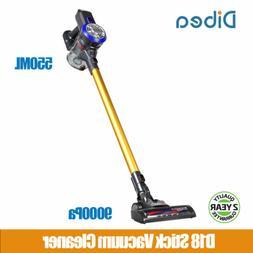 Dibea D18 Cordless Handheld Stick Vacuum Cleaner 9000Pa Powe