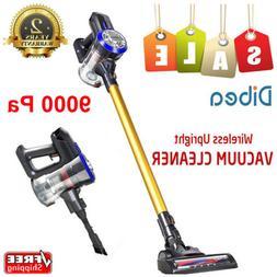Dibea D18 Cordless Handheld Stick Vacuum Cleaner 9000Pa Suct