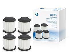 Fette Filter Compatible Cordless Vac Replacement Filter, Bla