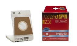3M Filtrete Dirt Devil U Antimicrobial Vacuum Bag