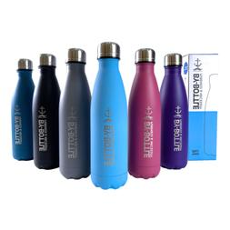 Double-Wall Sports Stainless Steel Water Bottle Vacuum Insul