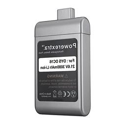Powerextra 21.6v 3000mAh Battery for Dyson Dc16 Root 6 Vacuu