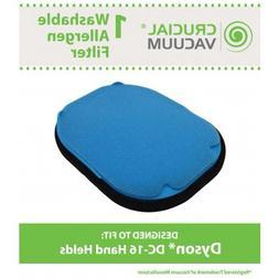 Dyson DC16 Washable Pre Filter, Part # 912153-01