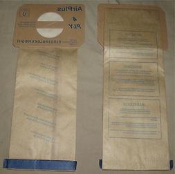 Electrolux Aerus Style U Vacuum Bags Upright Vac Type Discov