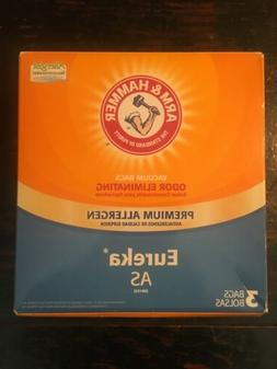 Eureka Type AS Vacuum Cleaner Bags for model AS1050 68155-6,