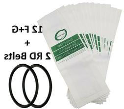 Eureka Style F&G Upright Vacuum Cleaner Bags 4 Pk Made in US