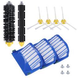 Filter Side Brush Kit For iRobot Roomba 600 Series 620 630 6
