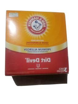 Arm & Hammer Premium Filtration Odor Eliminating Vacuum Bags