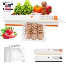 Food Vacuum Sealer Machine Storage Kitchen Meal Sealing Food