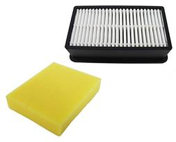 HEPA & Foam Filter 3918 for Bissell 1008 CleanView PowerLift