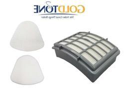 HEPA Vacuum Filter + Felt and Foam Pre Filters fits Shark Na