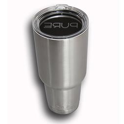 HUGE 40 Oz. Stainless Steel Vacuum Insulated Tumbler By Pure