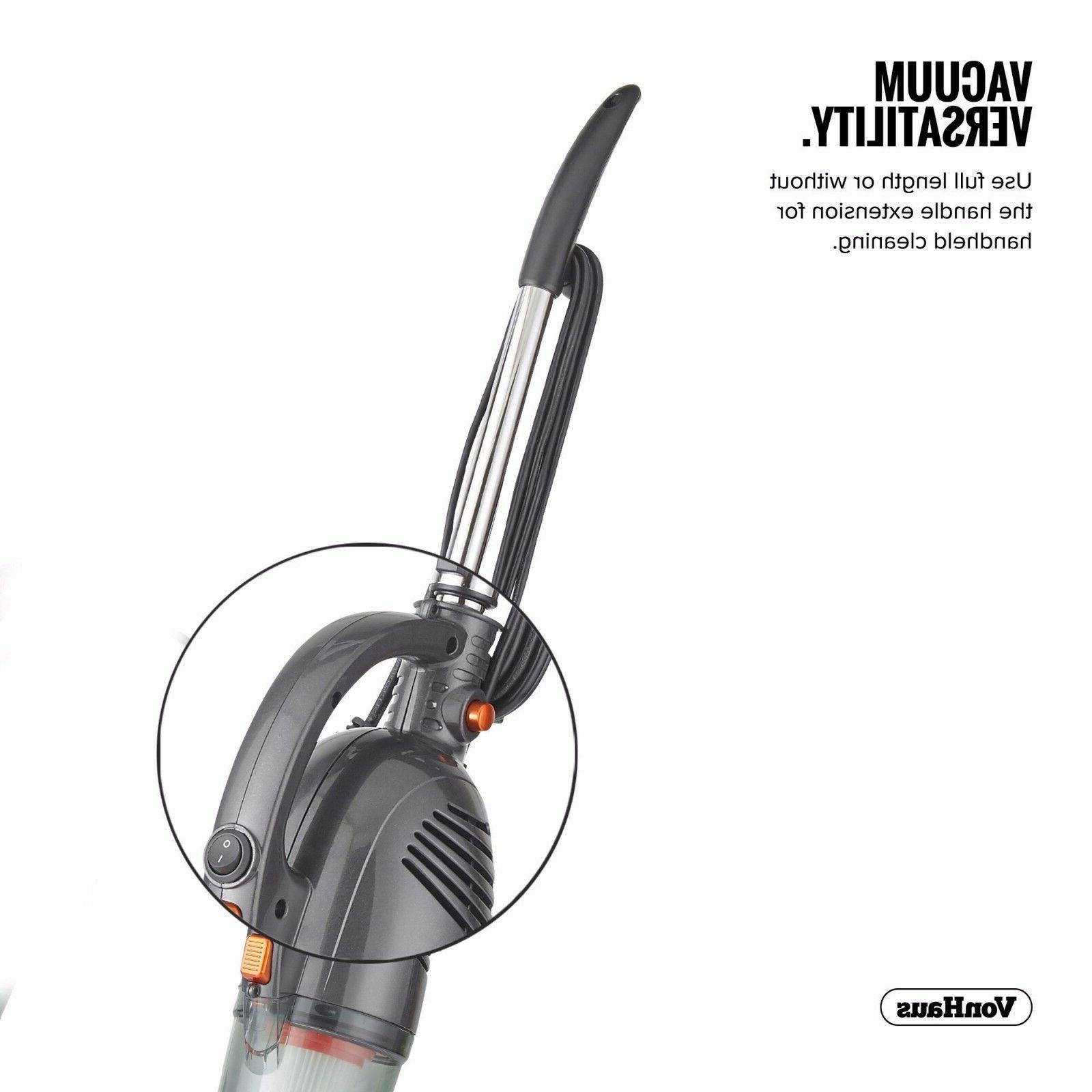 VonHaus 2 in 1 Corded Handheld Cleaner Bagless Upright