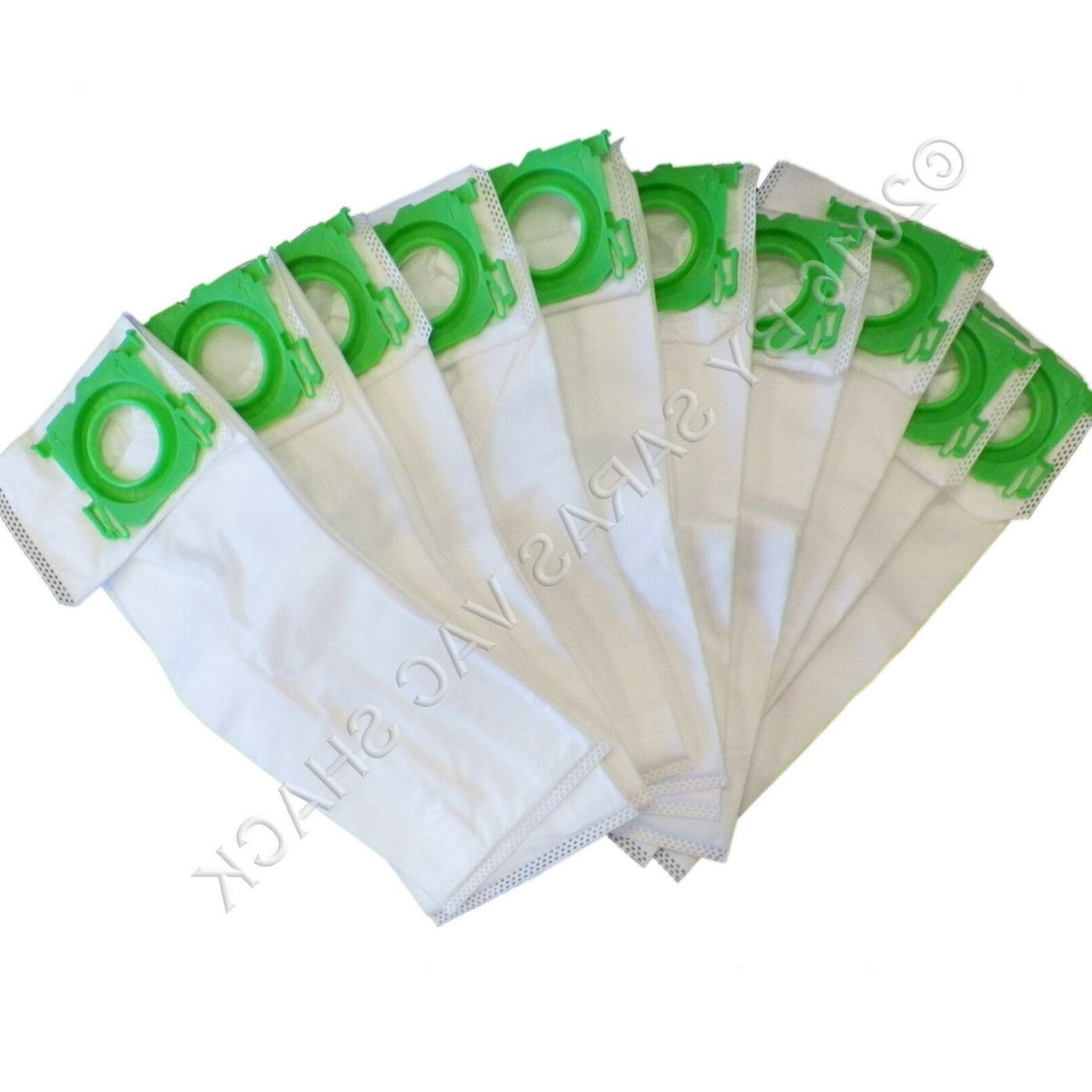 10 Synthetic Cloth Vacuum Bags for SEBO Windsor Sensor Comme